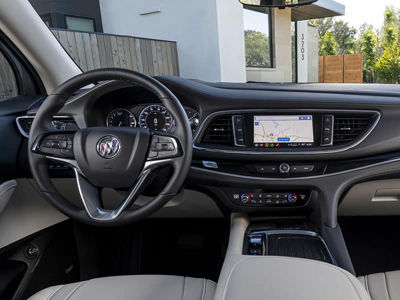 2022 Buick Enclave interior comfort and technology