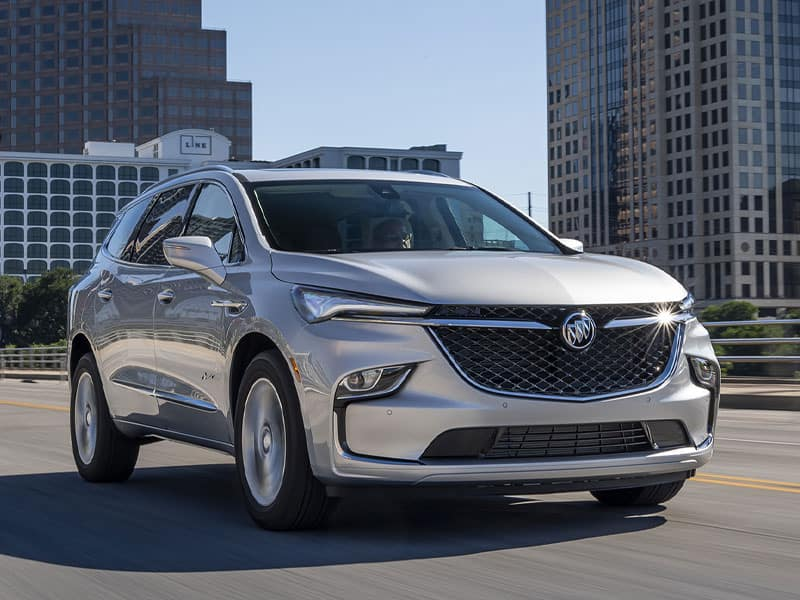 2022 Buick Enclave powertrain and performance