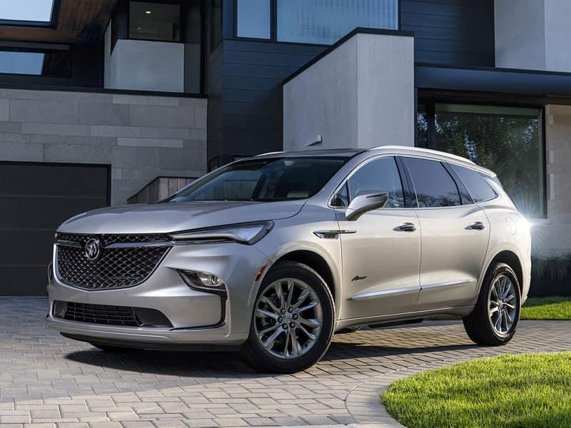 2022 Buick Enclave trim levels and drivetrain options