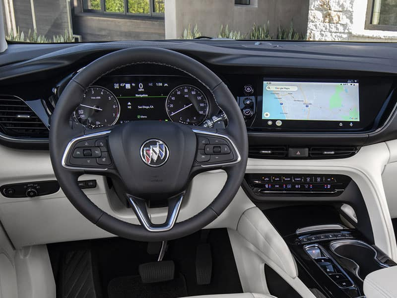 2022 Buick Envision interior comfort and technology