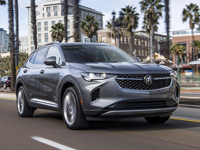 2022 Buick Envision powertrains and performance