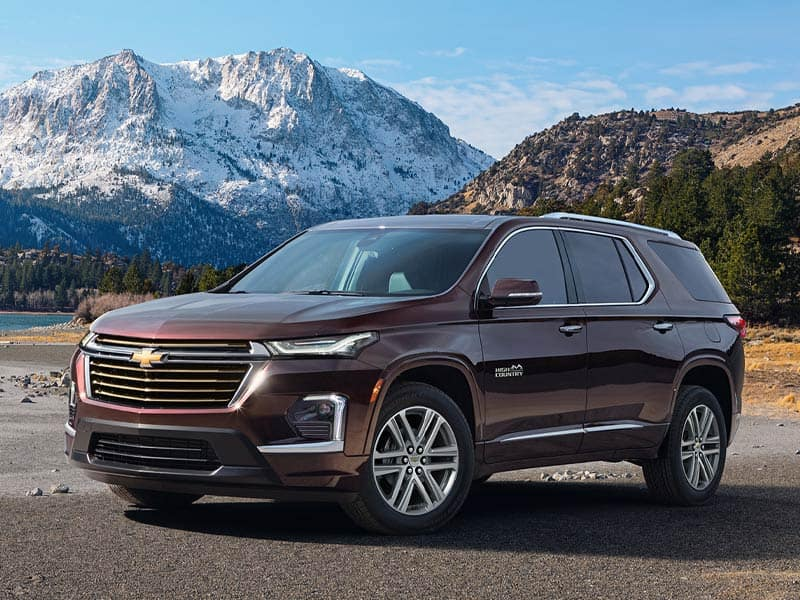 2022 Chevrolet Traverse models and trim levels