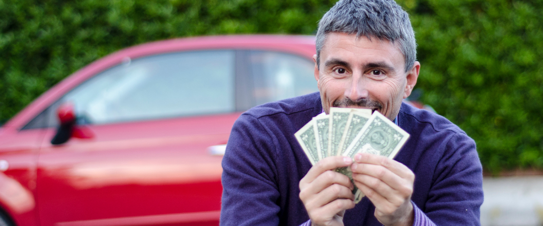 Man with Cash Who Sold His Car