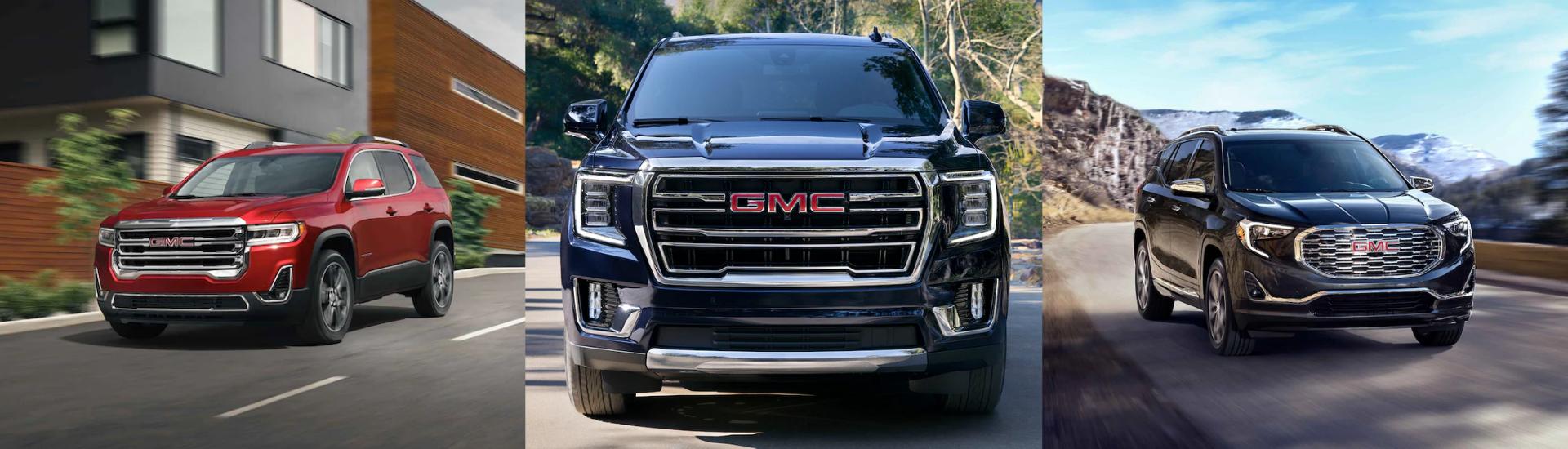 GMC SUVs