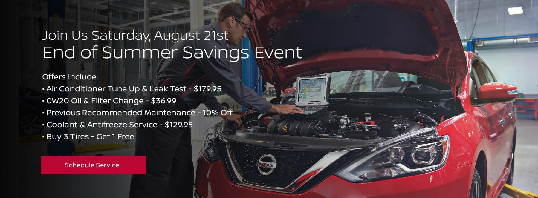 Summer Service Savings Event