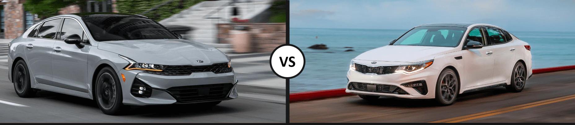 Kia K5 vs. Optima