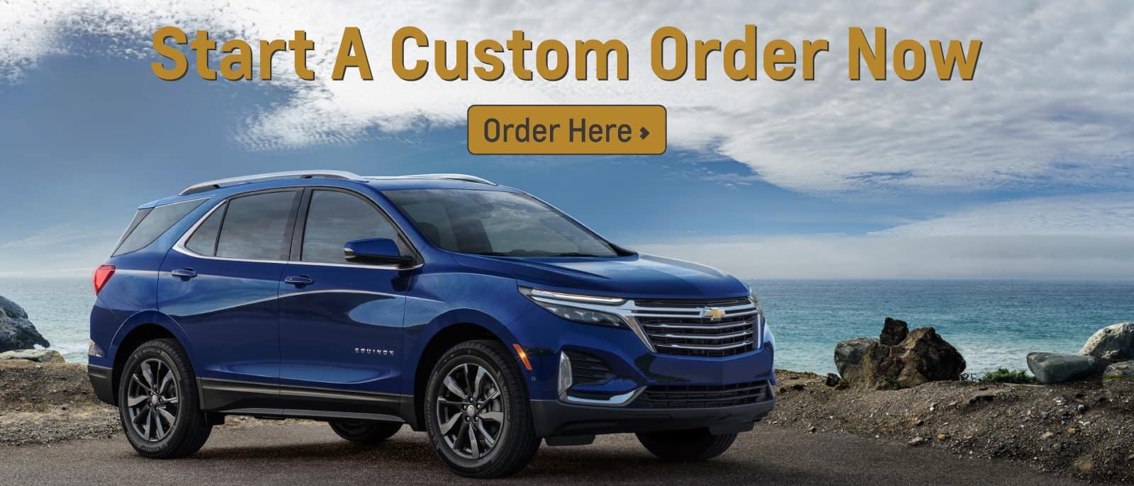 Start a Hyundai Custom Order