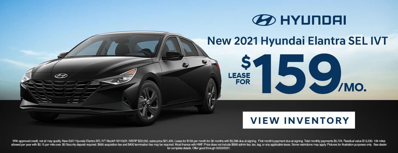 CHYW-April 20212021 Hyundai Elantra