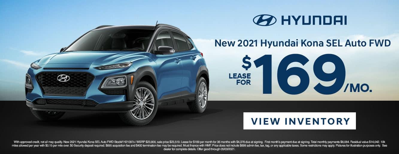 CHYW-April 20212021 Hyundai Kona