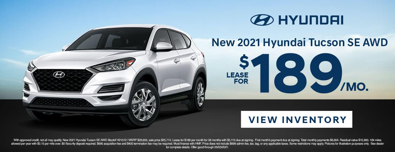 CHYW-April 20212021 Hyundai Tucson