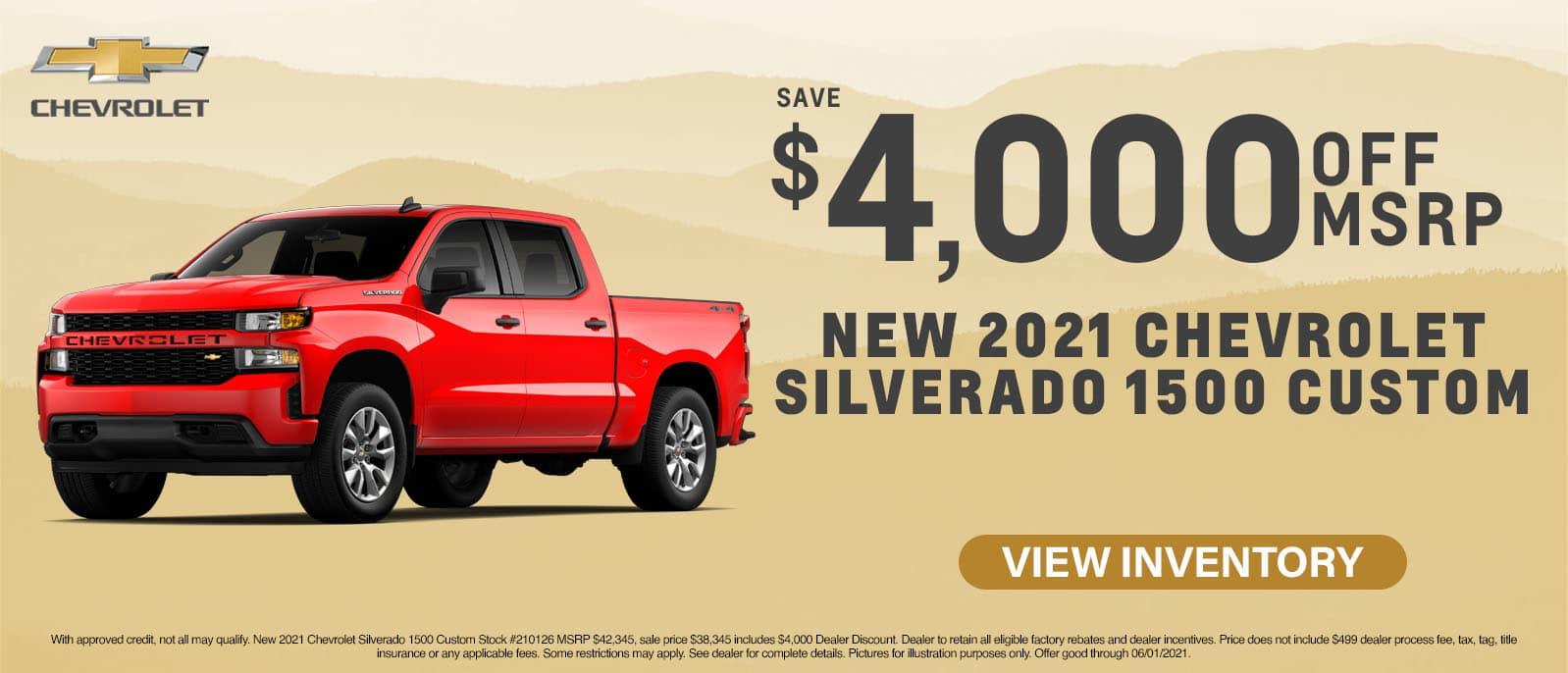 CRCH-May 2021-2021 Chevy Silverado