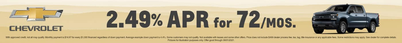 CRCH-May 2021-Finance Offer SRP Banner