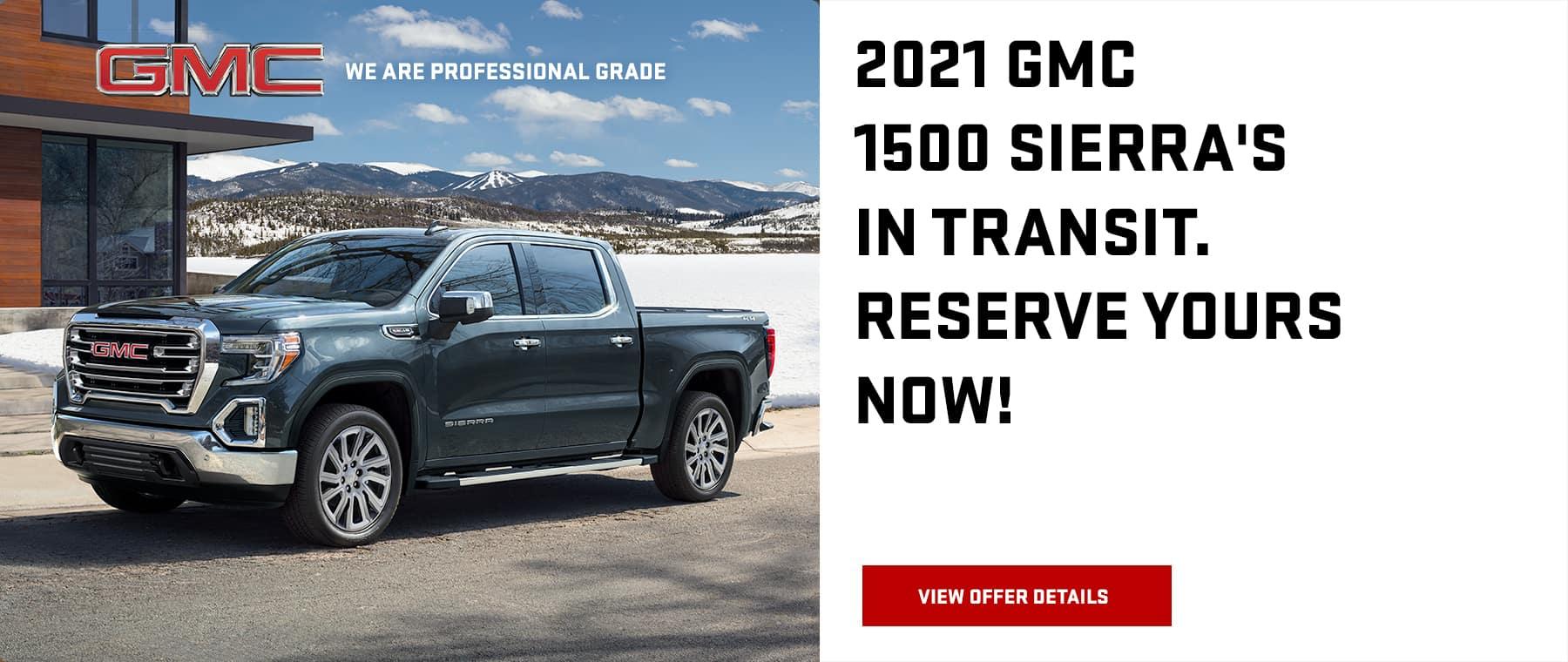 2021 GMC Sierra