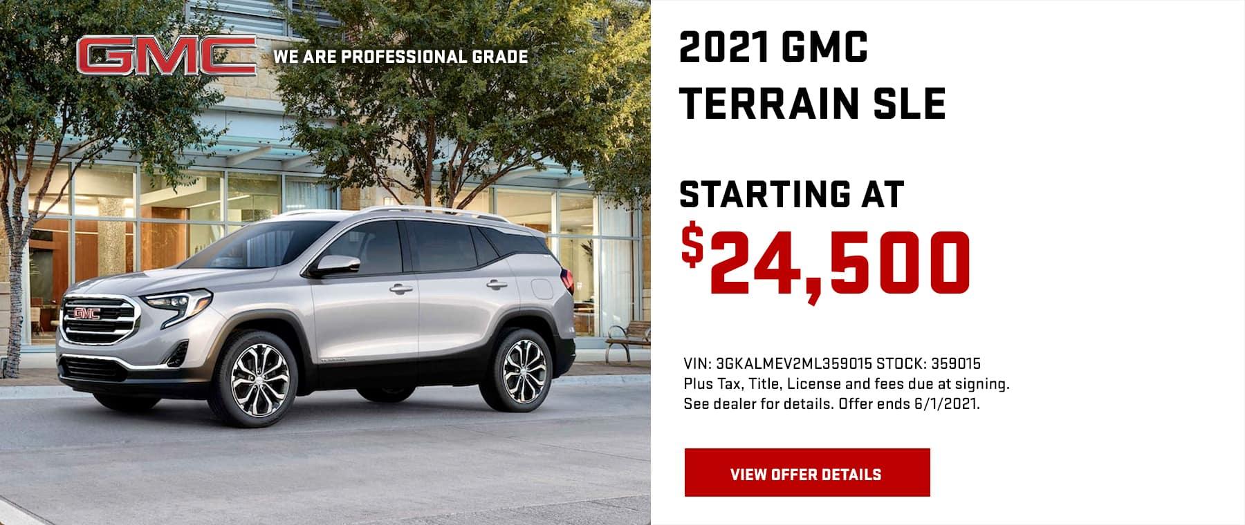 2021 GMC Terrain