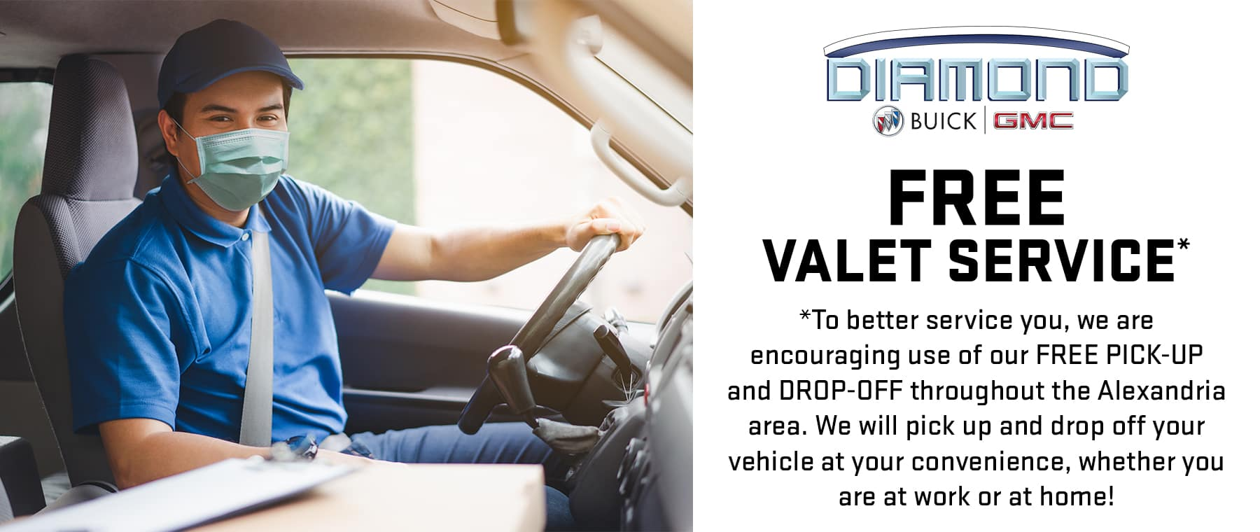 Free Valet Pick-Up and Drop-Off