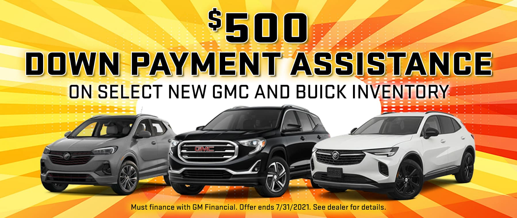 $500 Down Payment Assistance