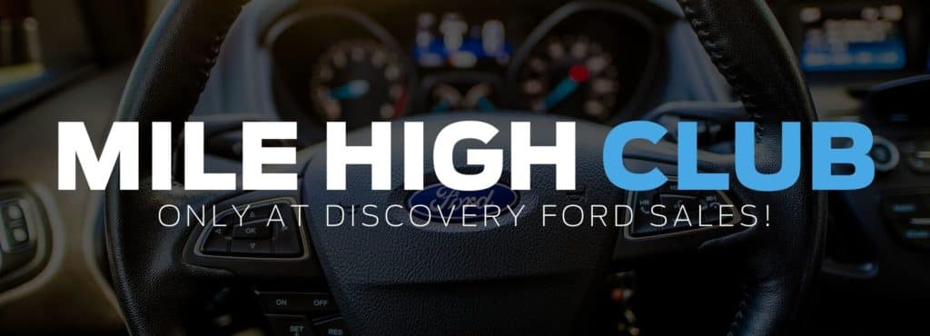 Mile High Club at Discovery Ford Sales Humboldt