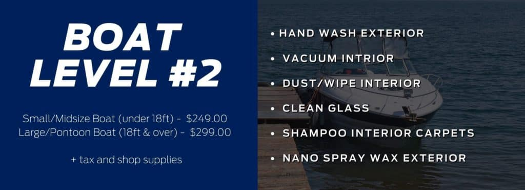 Boat Detailing Packages at Discovery Ford Sales