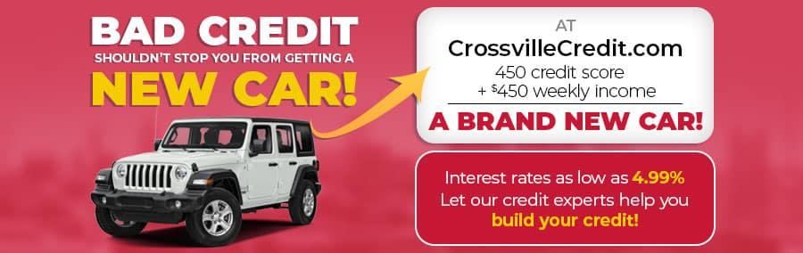 450 credit score + $450 a week = a brand new car