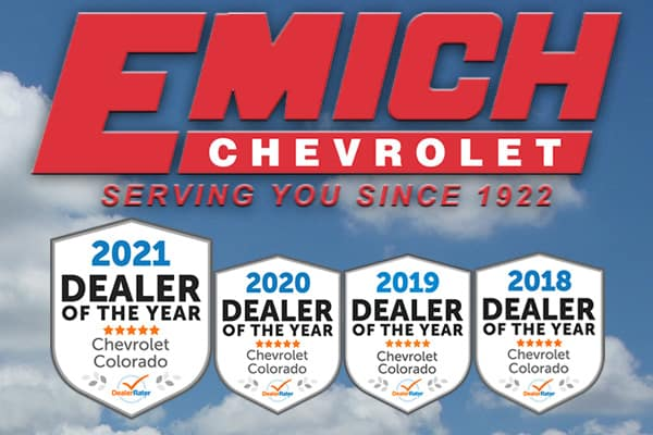 Emich Chevrolet - Colorado Dealer of the Year!
