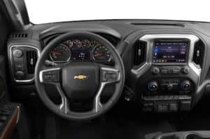2021 Chevrolet Silverado 1500 Pickup Interior in Lakewood, CO