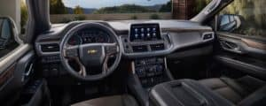 2021 Chevy Suburban SUV Interior in Lakewood, CO