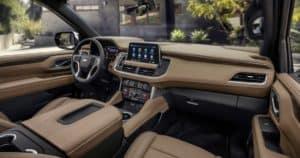 2021 Chevrolet Tahoe SUV Interior