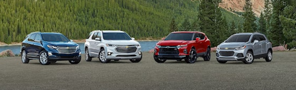 Chevrolet Vehicle Models