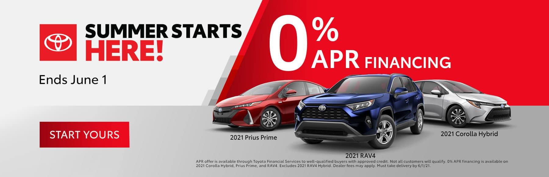 Toyota Summer Starts Here