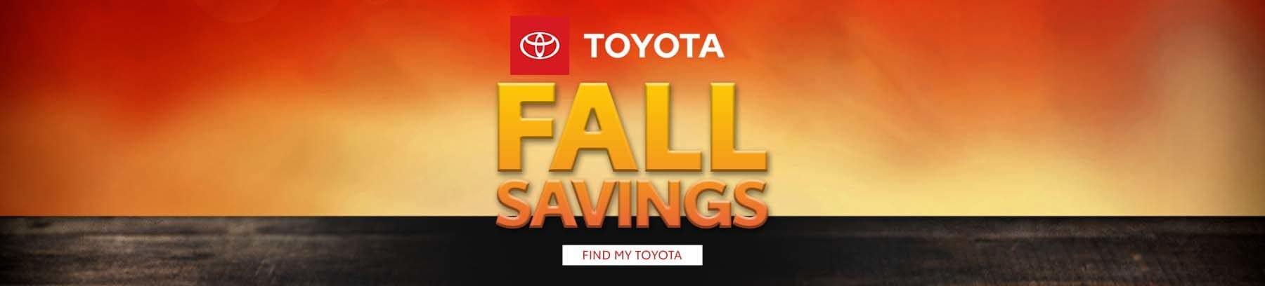 Fall Savings