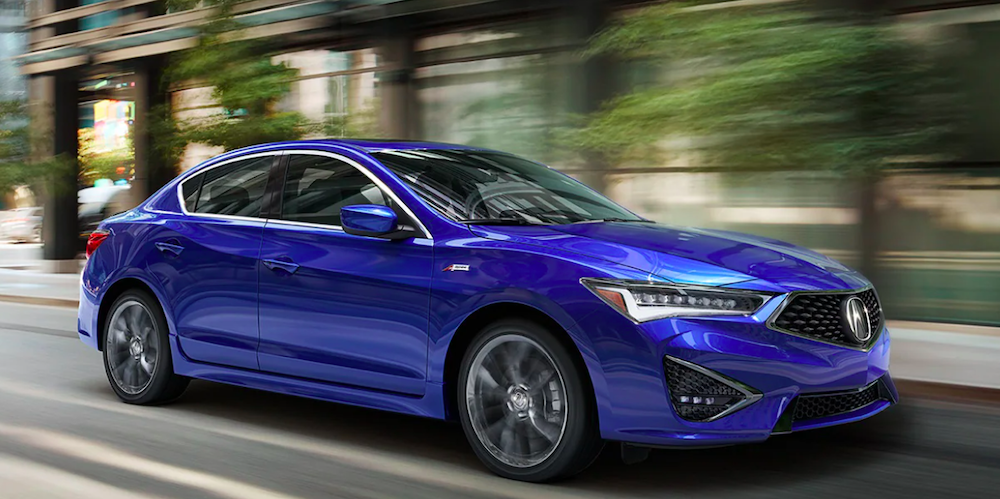 New Acura ILX A-Spec® Blue