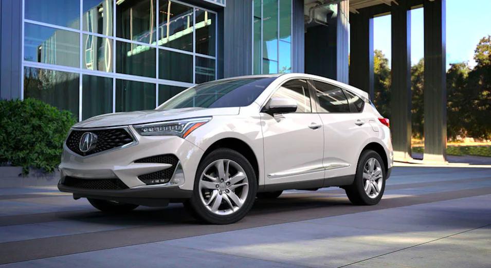 2021 Acura RDX Platinum White Pearl
