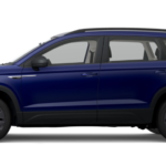 2022 VW Taos Dusk Blue Metallic