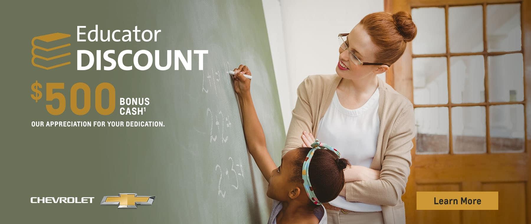 educator homepage