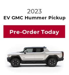 Pre-Order Hummer Pickup