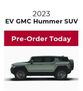 Pre-Order Hummer SUV