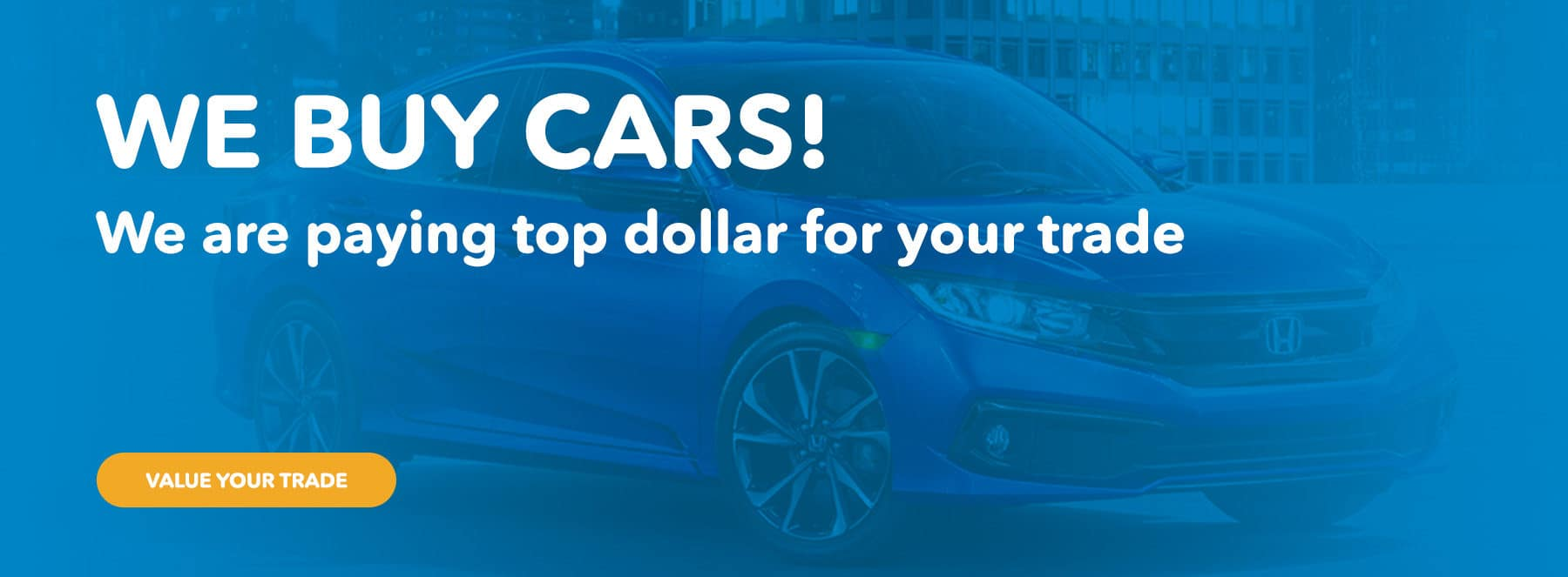 We Buy Cars!