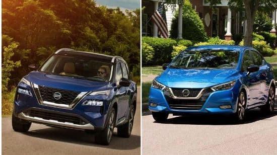 Best Buy Award: 2021 Nissan Rogue and 2021 Nissan Versa