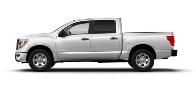 2021 Nissan Titan in Silver