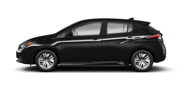 2021 Nissan Leaf in Black