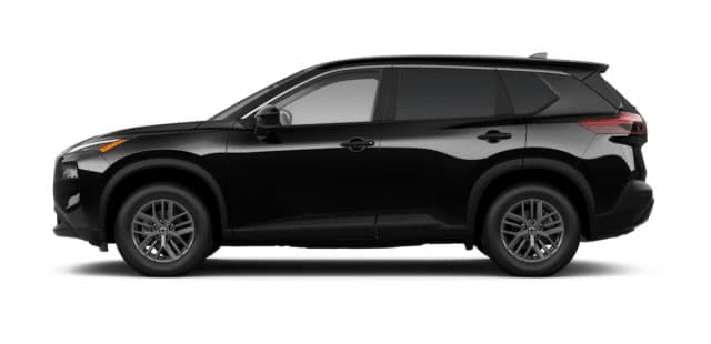 2021 Nissan Rogue in Black
