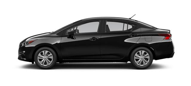 2021 Nissan Versa in Black