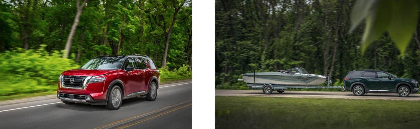 Two 2022 Nissan Pathfinders