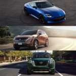 2022 Nissan Pathfinder, Nissan ARIYA, and Nissan Z