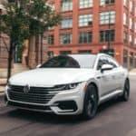 2020 VW Arteon Driving Down Street