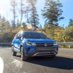 2022 VW Taos SUV in Blue