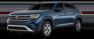 2021 Volkswagen Atlas Cross Sport S SUV Blue Exterior