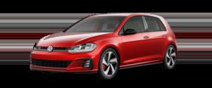 2021 Volkswagen Golf GTI S Hatchback Red Exterior