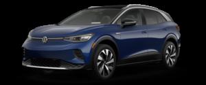 2021 Volkswagen ID.4 Electric Vehicle Blue Exterior