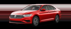 2021 Volkswagen Jetta S Sedan Red Exterior